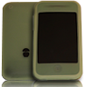 Green Phone Poncho for iPhone 3G/S